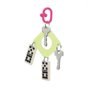 Domino & Keys Small Bird Toy