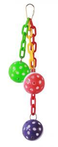Trio Crazy Balls Bird Toy