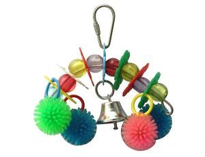 Bells N Balls Small Bird Toy
