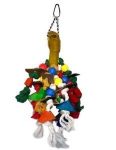 Mayhem Chewable Toy For Medium Birds