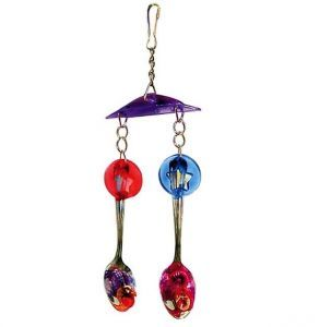 Shiny Spoons Medium Bird Toy