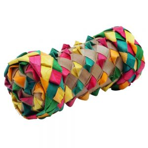 Woven Cylinder Shreddable Foot Toy