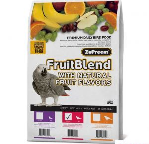 Zupreem FruitBlend Medium/Large Bird Food 17.5lb
