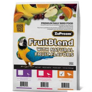 Zupreem FruitBlend Large Bird pellet Food17.5lb