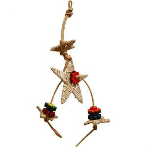 Bo Star Small Bird Wicker Toy