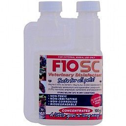 F10SC Bird Safe Disinfectant 100ml Concentrate
