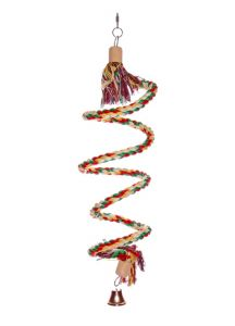 Small Boing Climbing Bird Rope Toy