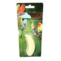 Gold Wings Banana Calcium Block - Small Bird