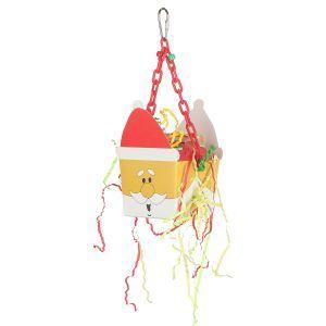 Santa Fun Foraging Box On Hanging Chain