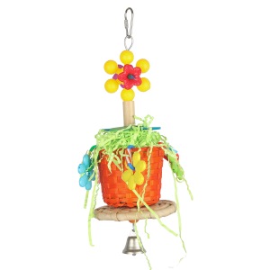 Pot Plant Fun Chewable Bird Toy