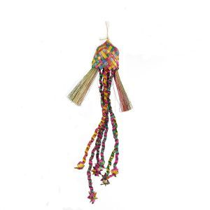 Star Dangle Shreddable Bird Toy