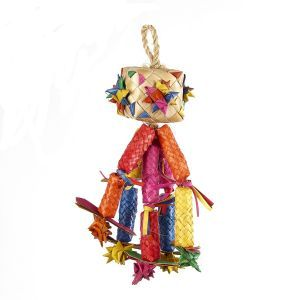 Shredding Tumble Medium Bird Toy