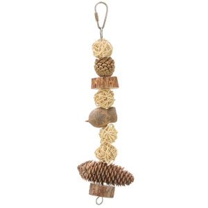Forest Log Natural Bird Toy