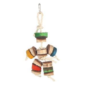Kabob Man Soft Wood Bird Toy