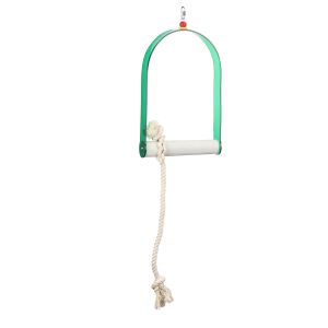 Acrylic Swing With Rope Extra Large