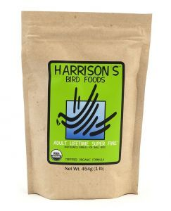 Harrison`s Adult Lifetime Superine Organic Parrot Food 454g