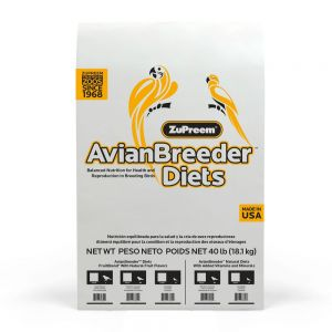 Zupreem FruitBlend Avian Breeder Medium/Large Bird Food 40lb