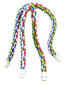 Rainbow Cross Rope Bird Perch Large