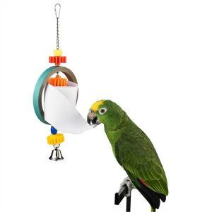 Paper Dispenser Bird Shredding Toy
