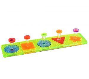 Acrylic Puzzle Shape Sorter - Bird Puzzle Toy