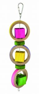 Spinning Rings Birdie Bagel Medium Toy