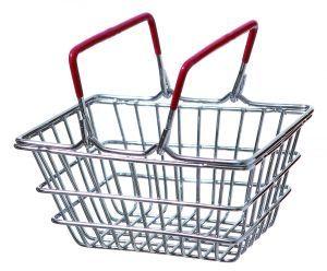 Bird Shopping Basket - Training Trick Toy