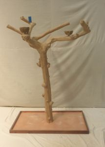 JAVA TREE - LARGE - NATURAL HARDWOOD PARROT PLAYSTAND BL60331