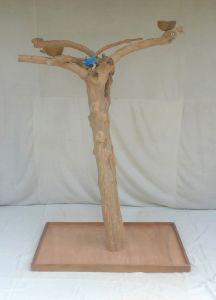 JAVA TREE - LARGE - NATURAL HARDWOOD PARROT PLAYSTAND BL60337