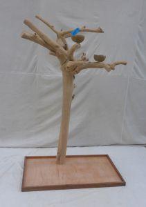 JAVA TREE - EXTRA LARGE - NATURAL HARDWOOD PARROT PLAYSTAND BL60586