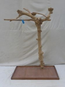 JAVA TREE - LARGE - NATURAL HARDWOOD PARROT PLAYSTAND BL60595