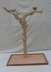 JAVA TREE - EXTRA LARGE - NATURAL HARDWOOD PARROT PLAYSTAND BL60603