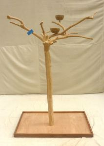 JAVA TREE - MEDIUM - NATURAL HARDWOOD PARROT PLAYSTAND BM50198