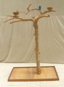 JAVA TREE - MEDIUM - NATURAL HARDWOOD PARROT PLAYSTAND BM50362