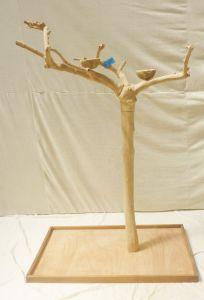 JAVA TREE - MEDIUM - NATURAL HARDWOOD PARROT PLAYSTAND BM50582