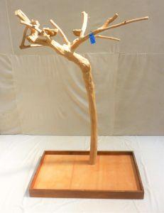 Java Tree - Medium - Natural Hardwood Parrot Playstand BM5728