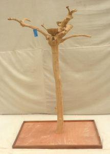JAVA TREE - SMALL - NATURAL HARDWOOD PARROT PLAYSTAND BS40208