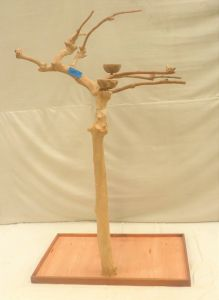 JAVA TREE - SMALL - NATURAL HARDWOOD PARROT PLAYSTAND BS40231