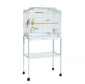 C29 Bird Cage Stand White