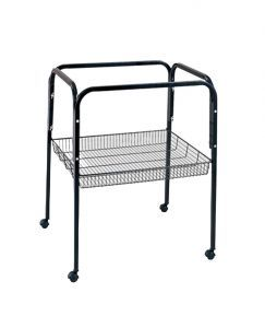 C3 Bird Cage Stand Black