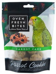 Oven Fresh Birdie Munchies Parrot Treat - Carrot Cake 4oz