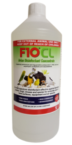 F10 Avian CL Concentrate Disinfectant - Bird Safe 1 Litre