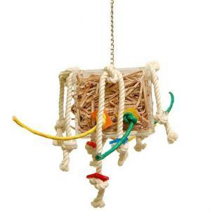 Crazy Leather Box - Foraging Bird Toy