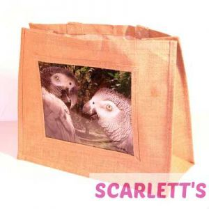 Jute Bag Natural African Grey