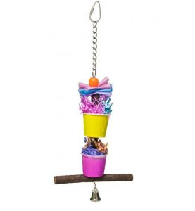 Party Cups Bird Forager
