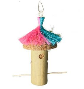 Hula Hut Bamboo Foraging Toy