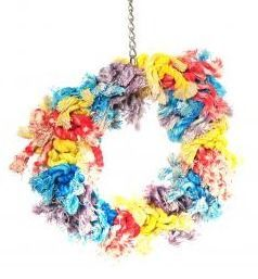 Flossin Ring Medium Bird Toy