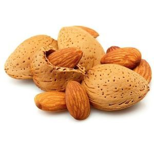 SEMI SOFT ALMONDS IN SHELL -HUMAN GRADE 1KG