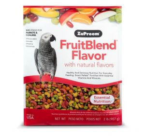 ZUPREEM FRUITBLEND MEDIUM/LARGE BIRD FOOD 2LB