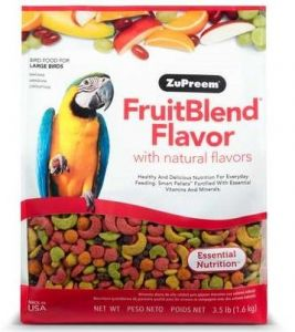 Zupreem FruitBlend Large Bird Pellet Food 3.5lb