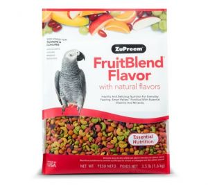 Zupreem FruitBlend Medium/Large Bird Food 3.5lb